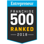 Entrepreneur Franchise 500 Ranked 2018