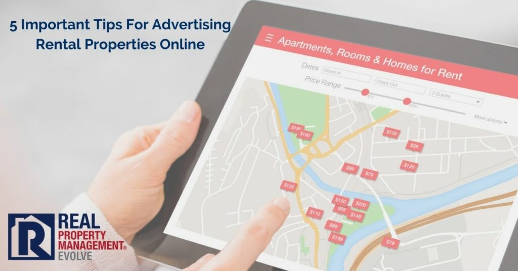 5 Important Tips For Advertising Rental Properties Online - Real Property Management Evolve